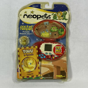 Vintage 2003 Tiger Electronics NEOPETS POCKET TONU IN TYRANNIA Virtual Pet NEW