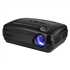 New Video Projector HD 1080p 3200 Lumens Movie Support HDMI USB VGA SD Android