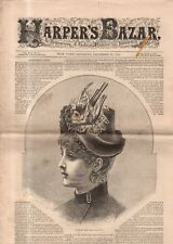 1884 Harper's Bazar December 20 - Christmas dolls; Walking and indoor toilettes