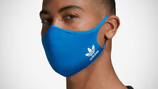 Adidas Reusable Blue Face Mask Protection 100% Authentic XS/S 3-Pack