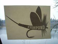 Fishpond FlyFishing Large Green Drake decal