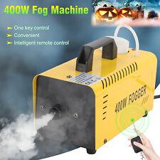 400W Nebelmaschine mit Fernbedienung Party Nebel Rauch Smoke Maschine Fog Effekt