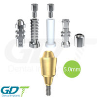 Straight Multi Unit 5.0mm Set For Conical NP Active Hex Dental Implants