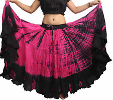 25 Yard Hippie Tribal Gypsy Dance Skirt 100% Cotton NN