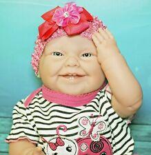 BABY GIRL BERENGUER PREEMIE LIFELIKE REBORN DOLL VINYL SILICONE REAL NEWBORN