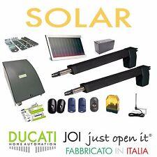 DUCATI HC812-400 SOLAR KIT Apricancello solare 2 ante battenti  Max 7m/700kg
