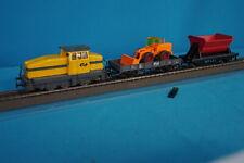 """Marklin 0988 NS Starter Set """"S"""" Diesel Lok NS + 2 Freight Cars 1984"""