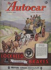 Autocar magazine 22/9/1944 Issue 2551