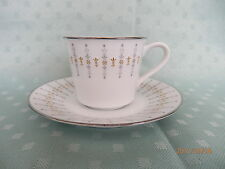 NORITAKE  TIFFANY  Cup/Saucer Instant Coffee   # 6787