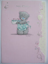 ME TO YOU TATTY TED TO CONTOURED HAPPY BIRTHDAY CARD