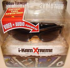 Hunter Specialties I-Kam Xtreme Gloss Black Video Audio Recording Glasses IKAM