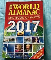 THE WORLD ALMANAC & BOOK OF FACTS 2017 ISBN 9781600572050 Retail $14.99