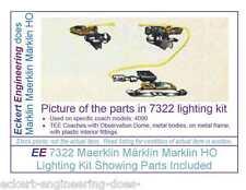 EE 7322 New Maerklin Märklin Marklin HO Pass Car Interior Lighting Kit for 4090