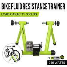 Bike Trainer Stand Fluid Resistance Bicycle Indoor Exercise Training Green