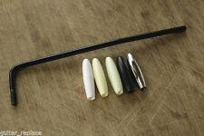 Barra Tremolo Stratocaster Negra Tip Varios Rosca 5 mm. Whammy Bar Black Strato