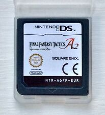 FINAL FANTASY TACTICS A2 Nintendo DS NDS Lite 2DS XL 3DS DSi RPG Gioco di strategia