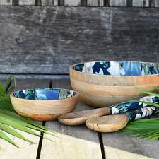 Navigate - Summerhouse 'Java' Mango Wood Salad Bowl Brand New