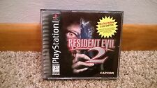 Resident Evil 2 Black Label (Sony PlayStation 1, 1998) Tested w/manual PS1