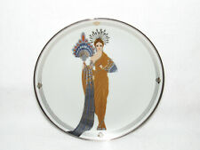 """Athena"" Franklin Mint House Of Erte Sevenarts Ltd Ed Plate #Hc2227"
