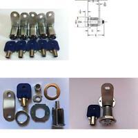 5 Pcs 25mm Tubular Cam Lock 7/8 Length For Pinball Arcade Machine Door, Lockers,
