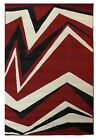 MODERN ELEMENT SHARD SMALL BEIGE AND RED RUG LOW COST PRICE MAT