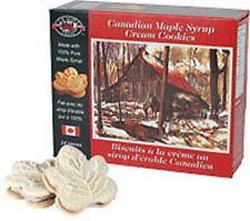 LB MAPLE TREAT maple cream cookies 400g 6 in 1 DEAL 加拿大 枫叶夹心饼 特产 x  6 包