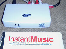 ADS Tech Instant Music RDX-150 Transfer Old LPs, Cassettes, & Music Files to CDs