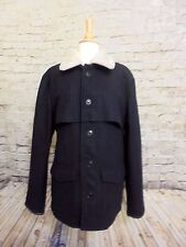 J CREW WALLACE AND & BARNES MEN'S WOOL WORKER JACKET,COAT LARGE #B2798 BIAUTIFUL