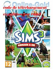Les Sims 3 - Animaux et Cie (extension) Clé - EA Origin Carte - PC Jeu - FR