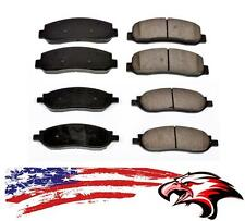 Front and Rear Semi-Metallic Brake Pads for F250 & F350 Super Duty 2005-2007