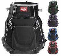 Rawlings Velo Baseball/Softball Backpack Bat Equipment Bag VELOBK