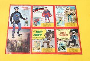 1966 IDEAL TOYS CAPTAIN ACTION CATALOG Batman Sgt Fury America Marvelmania MMMS