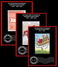 Digital Stamp Albums - Christmas Island - Complete Set - Vol 1-3 (1958 - 2016)