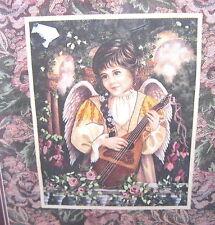VTG 1997 Dimensions Crewel Embroidery Kit BROCADE ANGEL #1497