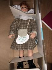 """WPM Waltershausers Lilly Muller 15 Of 500 Brown Dress German Doll 13"""" COA New"""