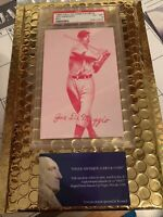 1980 Hall of Fame Exhibits Joe Dimaggio Red w/ Tan Back PSA 6 EX-MT EACC0201125