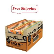 Nissin Top Ramen, Chicken Flavor 3 oz., 48 ct.