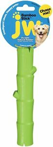 JW PET BAMBOO LUCKY STICK SMALL - GREEN MSRP $ 10.99