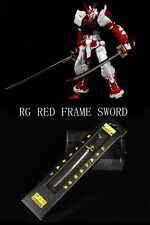 For BANDAI DETAIL UP RG 1/144 Red Frame Gundam Conversion Part Metal Blade