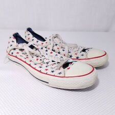 Stars Converse Chuck Taylor All Star Lo Top Shoes Mens US 10 Womens US 12