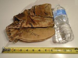 Vintage Ken Boyer Rawlings G675 Glove deep well pocket hinged pad major league