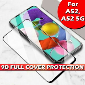Full Cover Gorilla Tempered Glass Screen Protector For Samsung Galaxy A52 / 5G