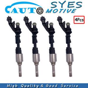 4Pcs Fuel Injector 0261500298 For Jaguar XF XK Land Rover LR4 Range Rover Sport