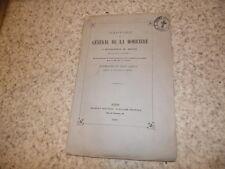 1860.rapport du général de la Moricière.Ancone Catelfidardo..