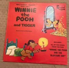 Disney Lp~Songs About Winnie The Pooh And Tigger~Disneyland DQ-1317