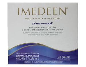 Imedeen Prime Renewal Skin Collagen and Antioxidant Supplement 120 Tablets