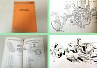 Agria 5700 Ersatzteilliste 0/16 + Ruggerini-Diesel-Motoren Ersatzteilkatalog