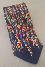 Alynn Neckwear Tie Marathon Running Runners Joggers Printed Novelty Athletes