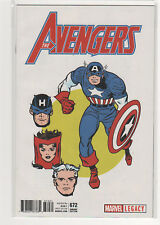 Avengers #672 Jack Kirby T-shirt variant Captain America Hawkeye 9.6