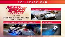 Xbox One Need for Speed Payback - Platinum Car Pack DLC